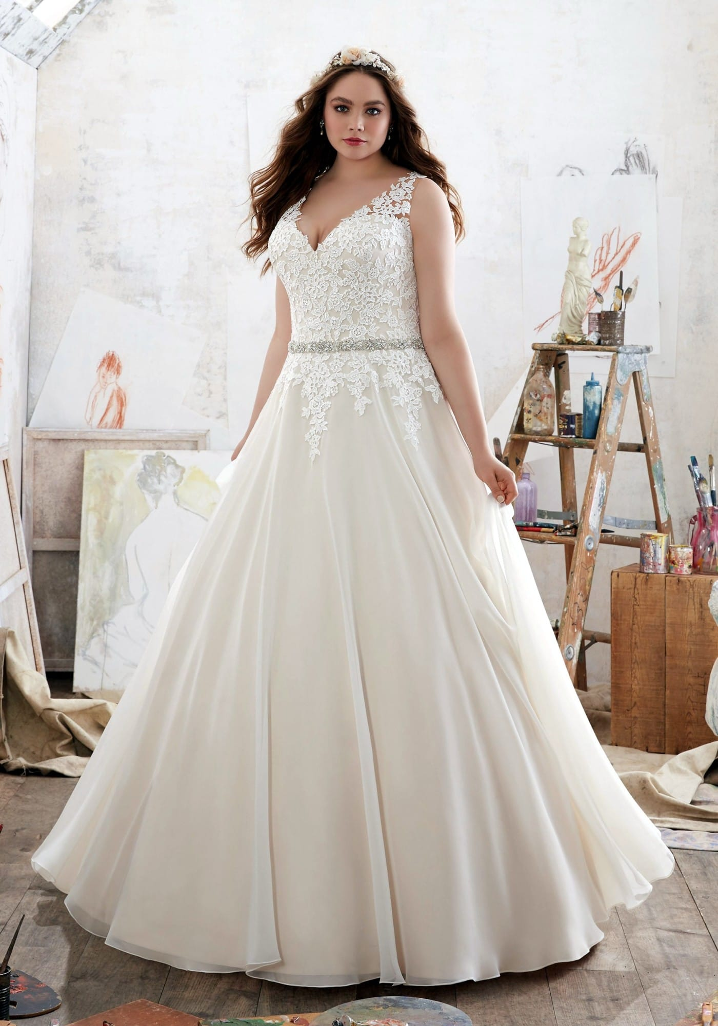 Mori Lee Michelle wedding gown