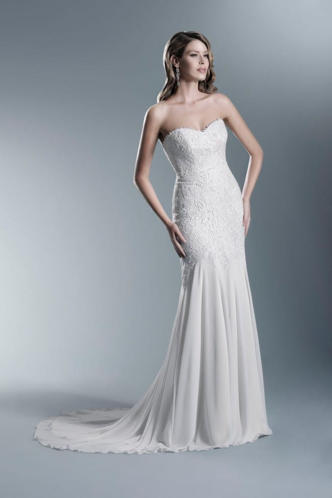 Agnes Bridal Martha Gown, veil & belt - Sell My Wedding Dress Online ...