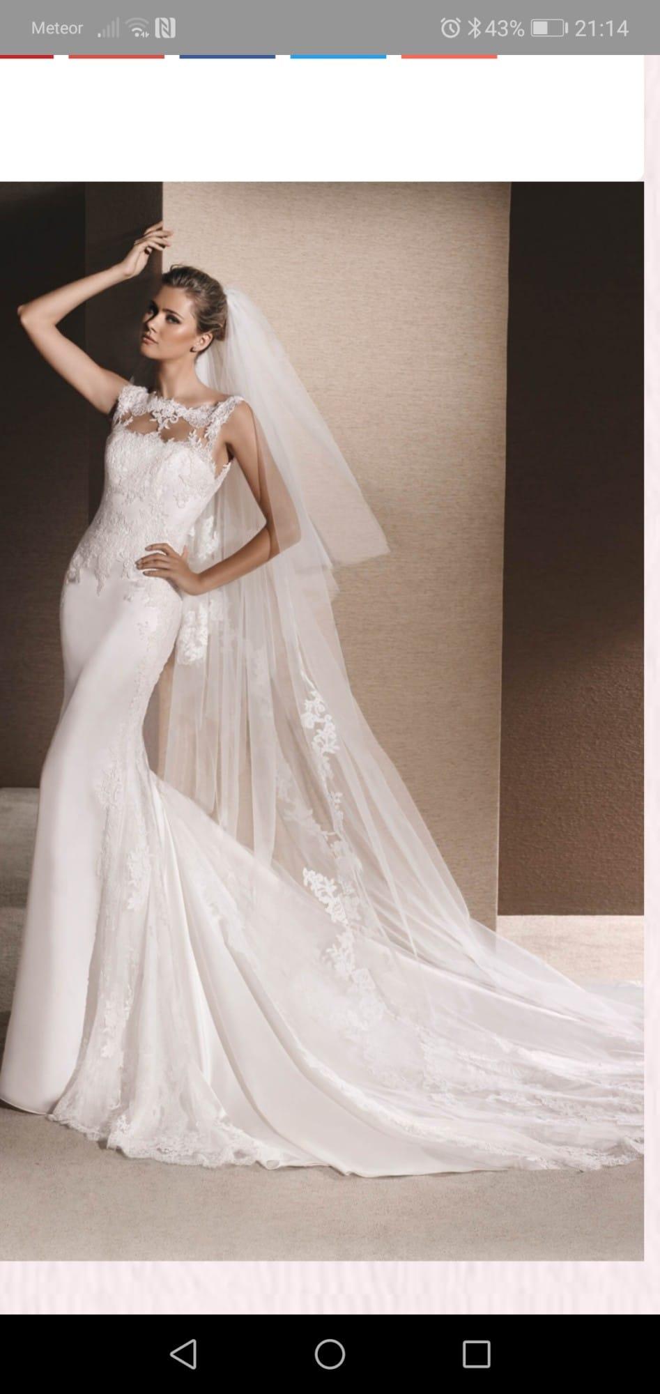 La Sposa Roger Lace Gown