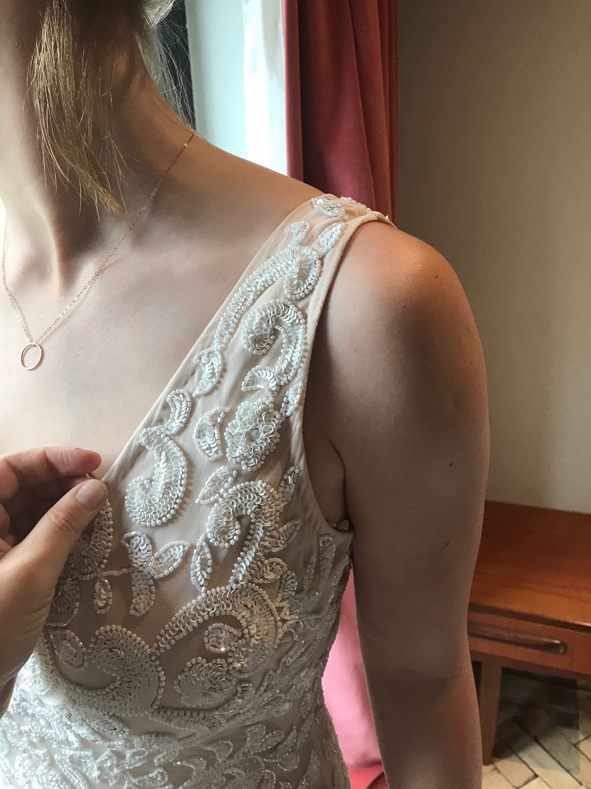 Brand New Lotus Threads Designer Wedding Dress Never
