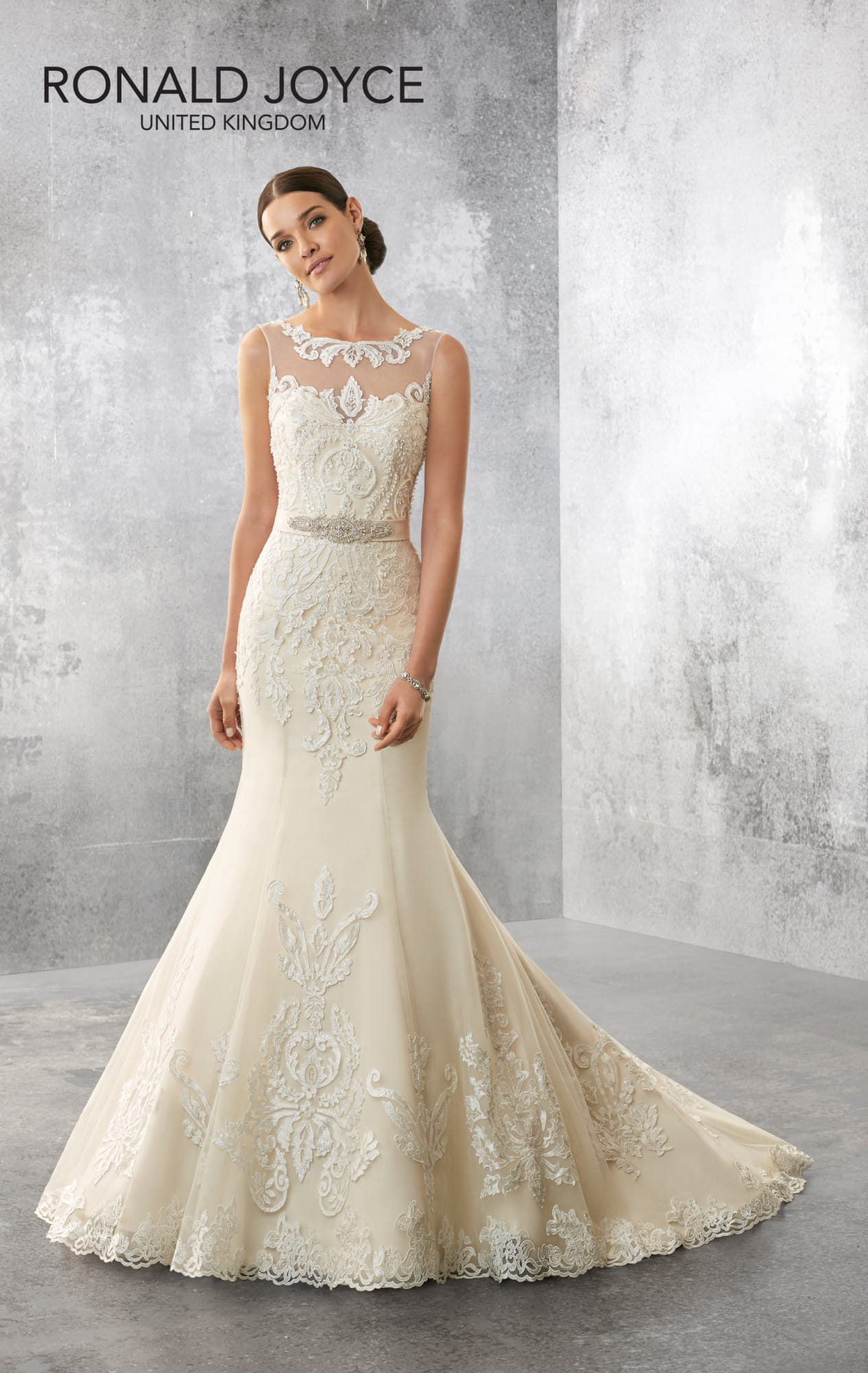 Stunning Ronald Joyce Acadia Wedding Dress