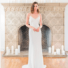 Jenny Yoo Silk Designer Wedding Dress