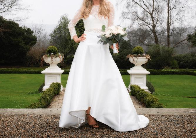 Karen Willis Holmes (KWH) Wedding Dress (Skirt and Top)