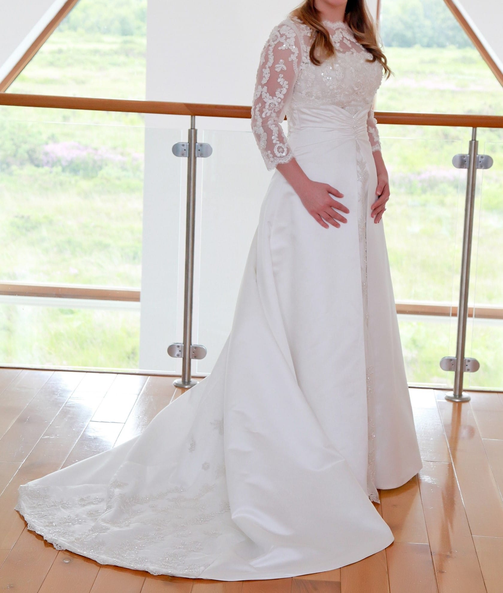 Rosette Nicolini Adrienne Medieval Style Wedding Dress