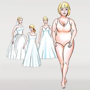Body shape - apple