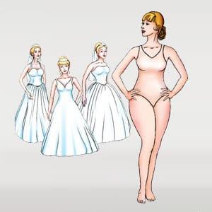Body type pear shape