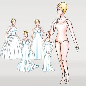 Body shape tall and thin
