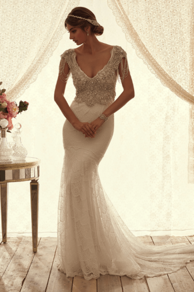 Anna Campbell Sierra Brocade Sell My Wedding Dress