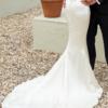 Kathy de Stafford ivory silk dress
