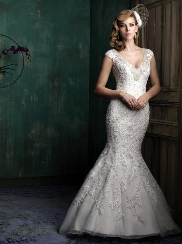 New & Unworn Allure Couture C342 Gown