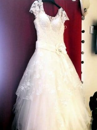 Oanna stunning wedding dress