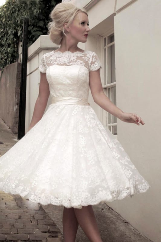 House of MooshkiVintage Style Short (Tea Length) Sarah Dress