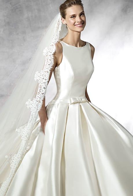 Barcaza Pronovias Wedding Dress Sec01 Sell My Wedding Dress Online