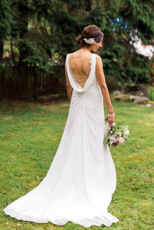Edel Tuite simple but beautiful gown