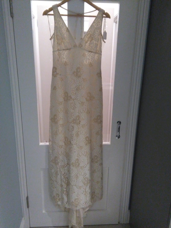Claire Pettibone lace dress