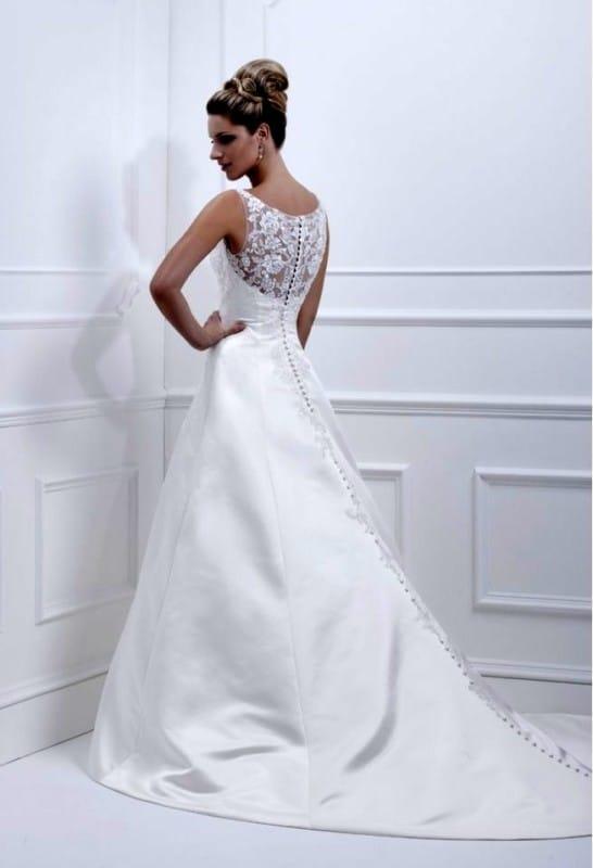 e0bb677786c Ellis Bridals 11358 back - Sell My Wedding Dress Online