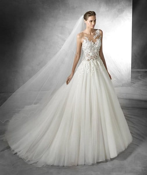 Pronovias Taciana wedding dress