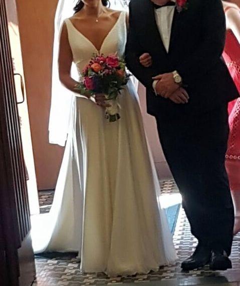 Stephanie Allin Demi Gown