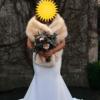 Essense of Australia Vintage Inspired Silk Crepe Wedding Dress
