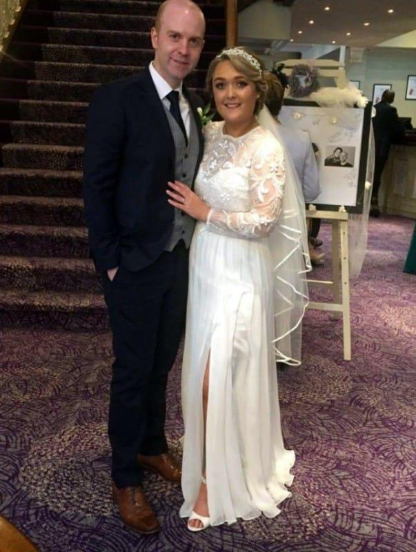 Folkster wedding dress