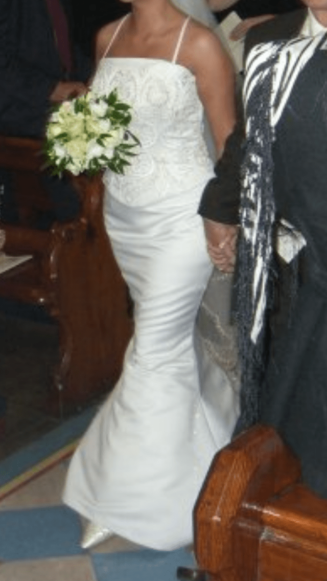 Edel Tuite fitted wedding dress