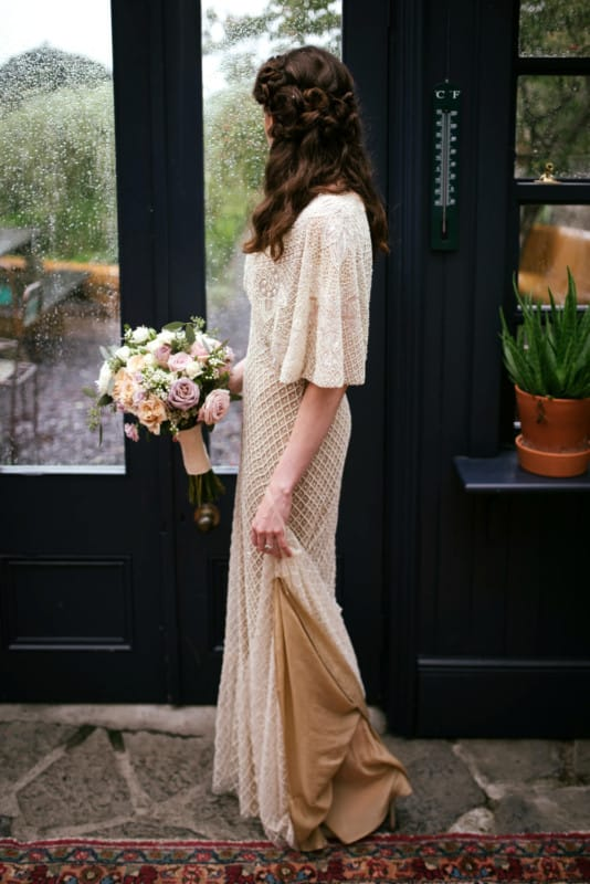 Don O'Neill beautiful beaded one of a kind gown
