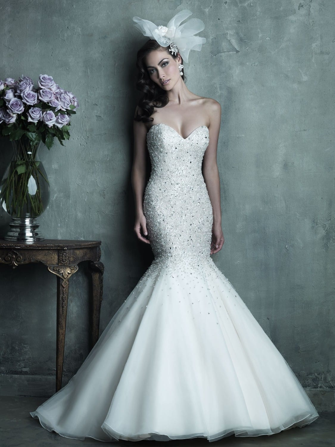 Allure Couture C286 Mermaid style wedding dress