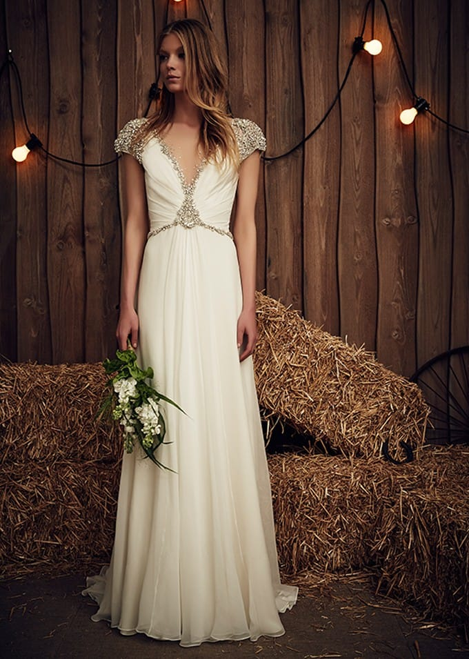 Jenny Packham Sheba gown & accessories