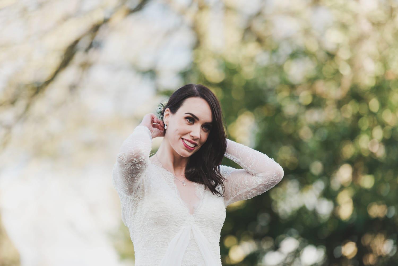 Yolan Cris Elegant Vintage Couture Wedding Gown