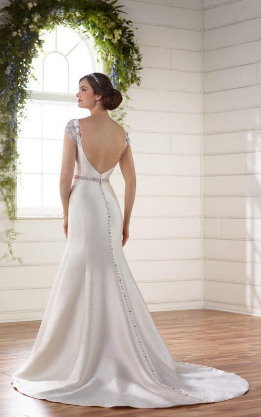 Essense Of Australia Mikado Wedding Gown Sell My Wedding