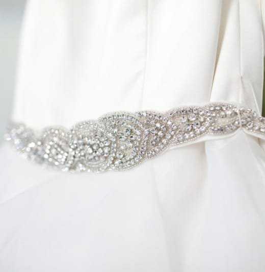Beautiful Mikaella Mia Wedding Dress