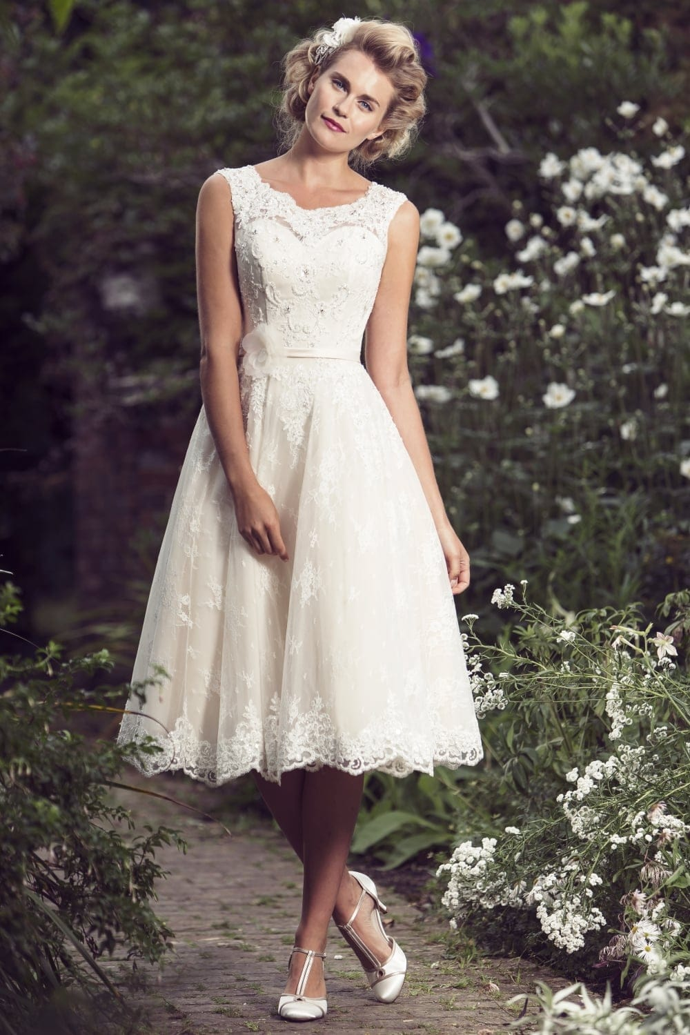 Brighton Belle Mia Tea Length Wedding Dress