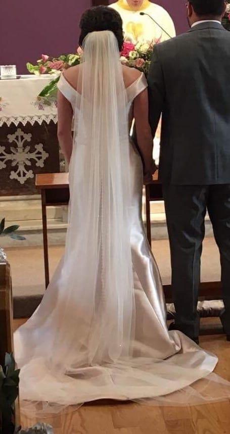 Ronald Joyce Amanda Wedding Dress Amp Matching Veil Sell