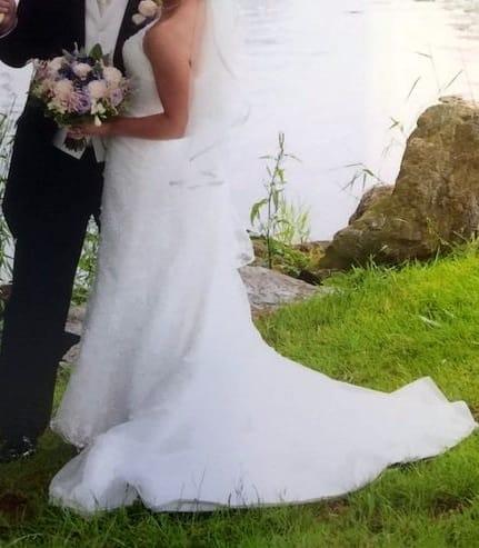 Mark Lesley Elegant Lace Wedding Dress