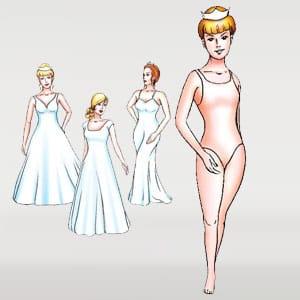 Website that sells wedding dresses