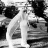 Couture crepe silk by Jennifer Regan