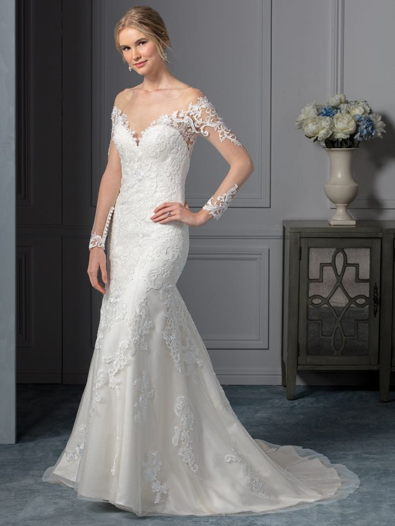 966bba3d31ee2 Beloved by Casablanca Carolina Wedding Dress - Sell My Wedding Dress ...