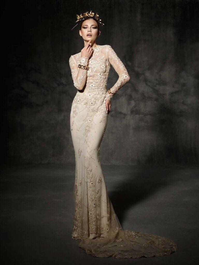 Yolan Cris Couture Bruc Wedding Dress