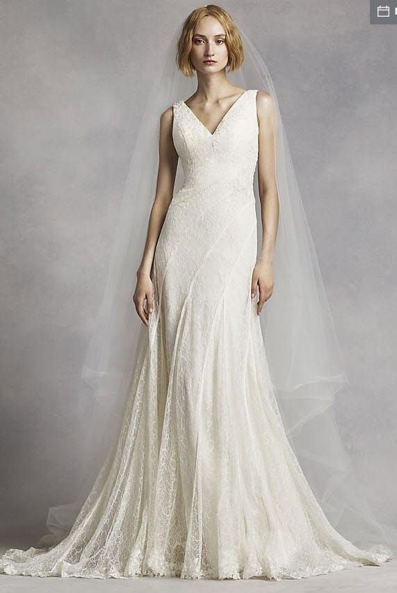 Vera Wang White Vw351283 Gown Sell My Wedding Dress Online