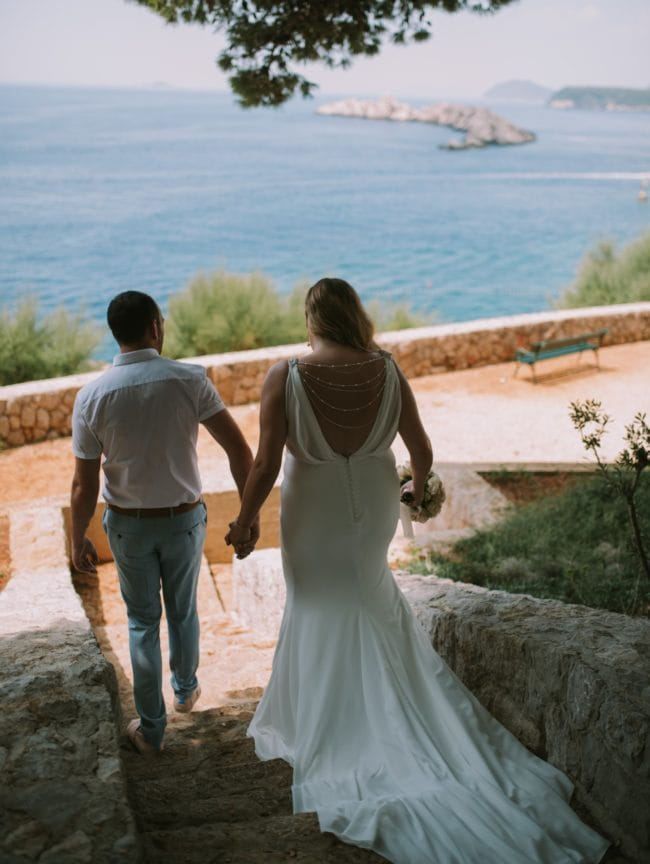 83549b7b8a74 La Sposa Palpito on bride 2 - Sell My Wedding Dress Online