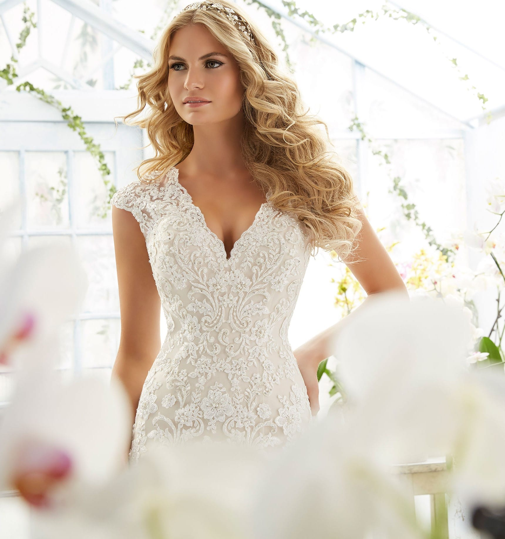 Mori Lee Wedding Gowns: Mori Lee 2806 Gown - Sell My Wedding Dress Online