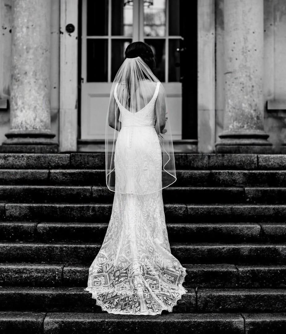 Embellished Bridal Gown (Boho