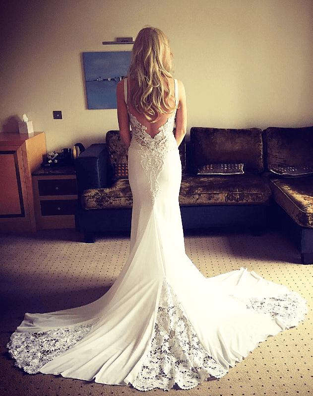 Kathy De Stafford Custom Made Gown A Sell My Wedding Dress