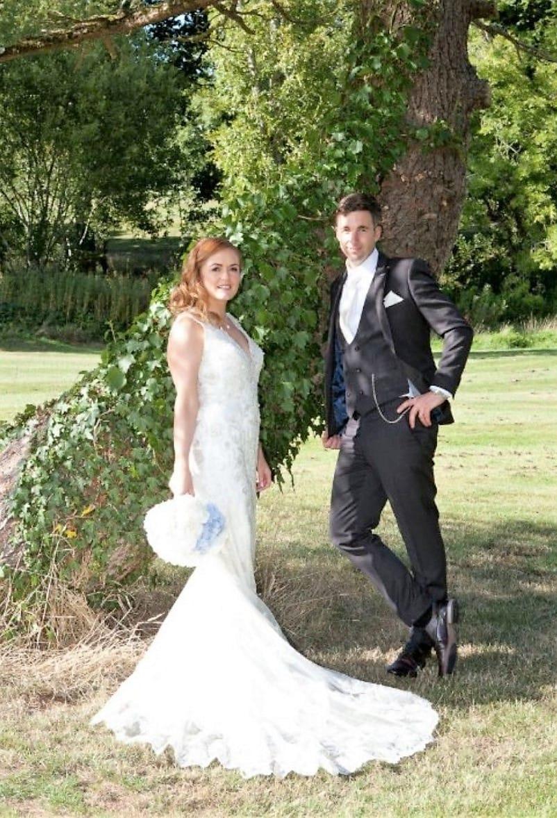 Kenneth Winston 1660 Wedding Dress