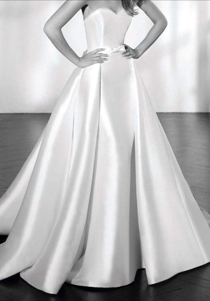 San Patrick Zeta Two piece wedding dress