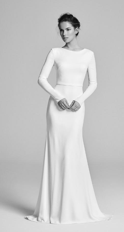 Suzanne Neville Geddess Gown
