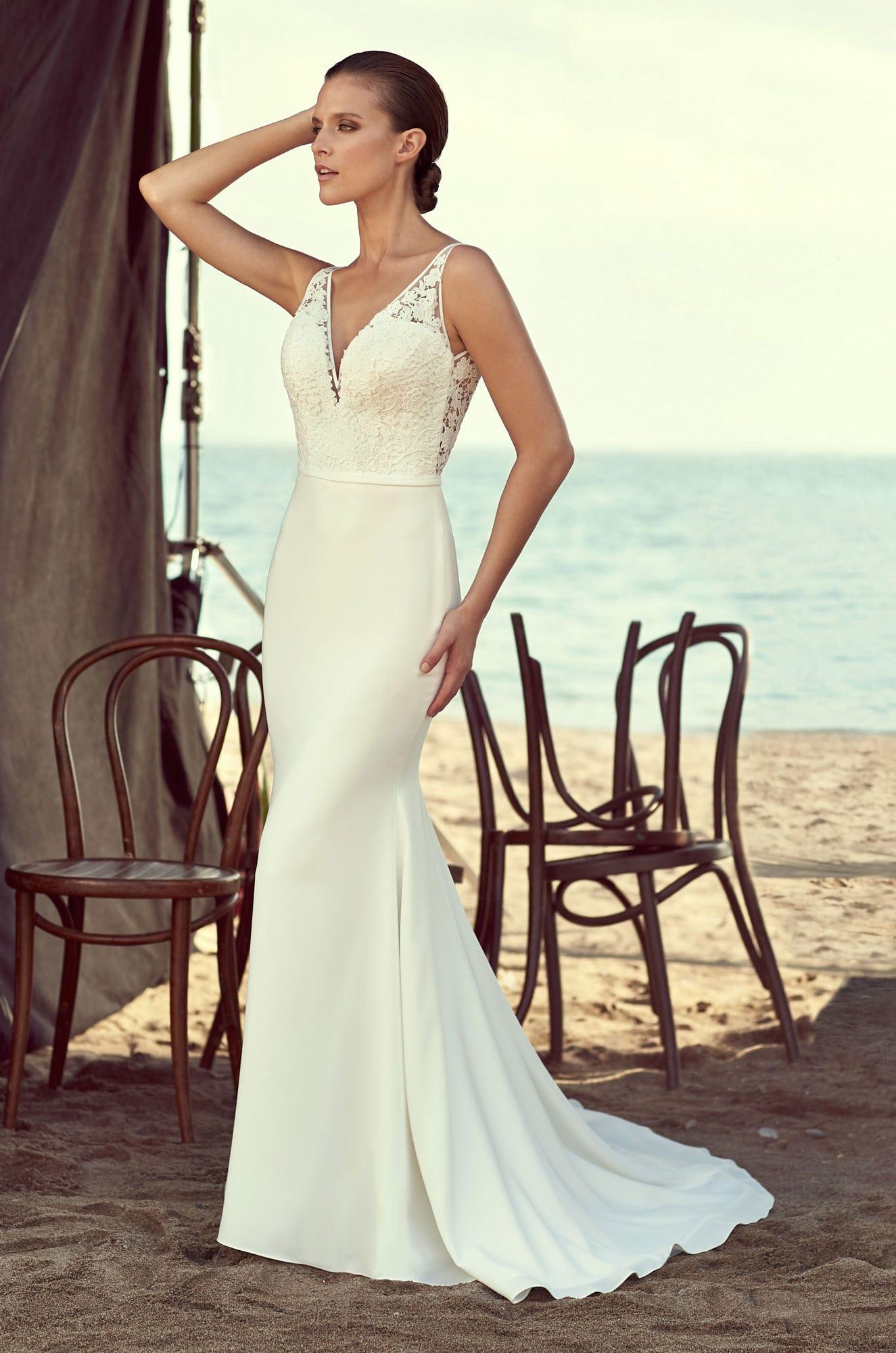 Mikaella by Paloma Blanca Style 2195