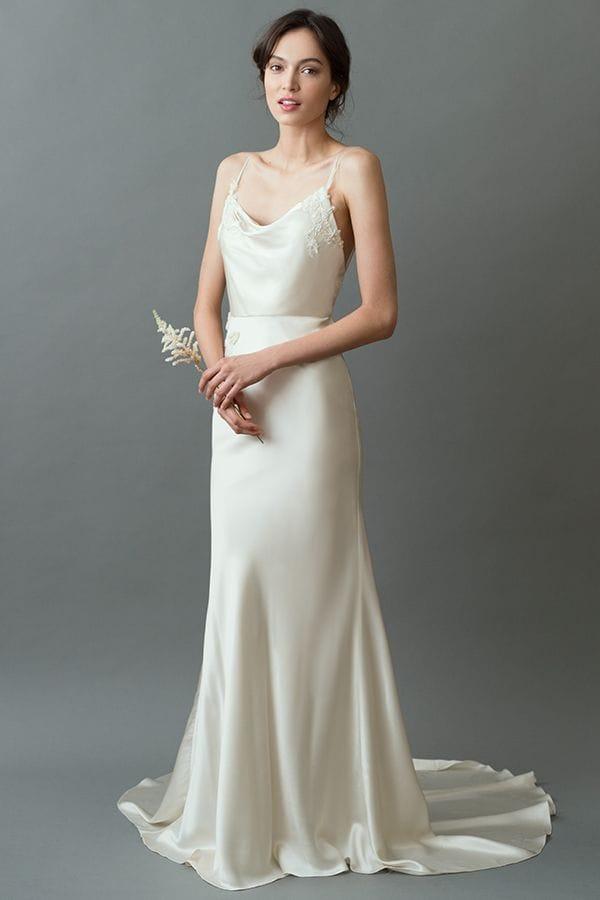 Jenny Yoo – Vintage style silk wedding dress