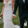 Designer Mikaella Alexis wedding dress