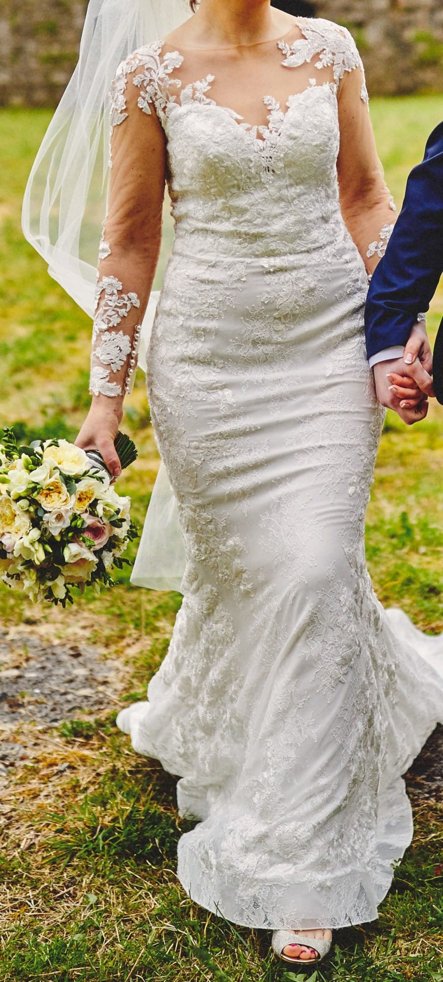 Dando London Tulum Fulham Broadway Lace Wedding Dress